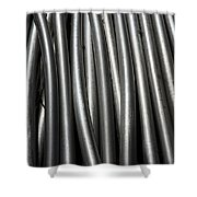 Tubular Abstract Art Number 11 Shower Curtain