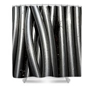 Tubular Abstract Art Number 4 Shower Curtain