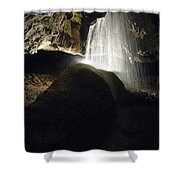 Tuckaleechee Cavern Waterfall Shower Curtain
