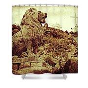 Tucson Lion Shower Curtain