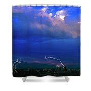 Tucson Power Outage-signed-#004 Shower Curtain