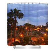 Tucson Skies Shower Curtain