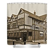 Tudor House Southampton Shower Curtain