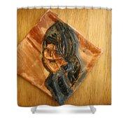 Tuesday - Tile Shower Curtain