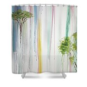 Tuesday Morning Shower Curtain