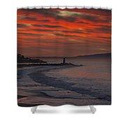 Tuesday Sunrise Shower Curtain
