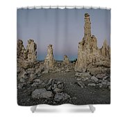 Tufas At Dusk No.2 Shower Curtain by Margaret Pitcher