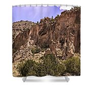 Tuff Cliffs Shower Curtain