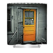 Tuff Times Shower Curtain by Perry Webster