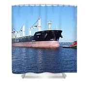 Tug And Saltie Shower Curtain