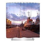 Tug Boats Shower Curtain