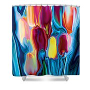 Tulip 2 Shower Curtain