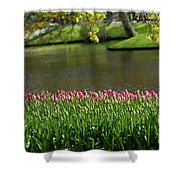 Tulip-5 Shower Curtain