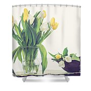 Tulip Art Shower Curtain