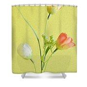 Tulip Family Shower Curtain