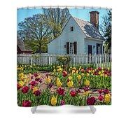 Tulip Garden  Shower Curtain