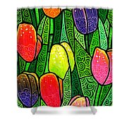 Tulip Glory Shower Curtain
