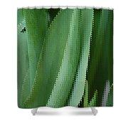 Tulip Greens Shower Curtain