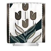 Tulip Mania Shower Curtain