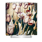 Tulip Sheltered Shower Curtain