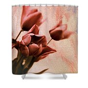 Tulip Whimsy Shower Curtain