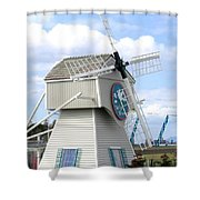 Tulip Town 1 Shower Curtain