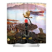 Tulip Town 20 Shower Curtain