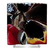 Tulip Water Color Shower Curtain