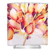 Tulips Are People Iv Shower Curtain