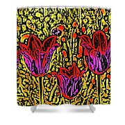 Tulips Are Tulips Shower Curtain