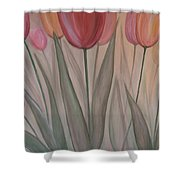 Tulips For Carol Shower Curtain