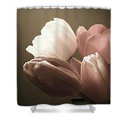 Tulips Glow Shower Curtain