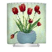 Tulips I  Shower Curtain
