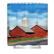 Tulmeadow Farm Shower Curtain