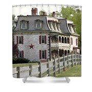 Tulpehocken Manor Plantation Historic Site  Shower Curtain