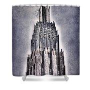 Tulsa Art Deco IIi Shower Curtain by Tamyra Ayles