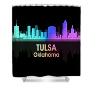 Tulsa Ok 5 Squared Shower Curtain