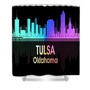 Tulsa Ok 5 Vertical Shower Curtain