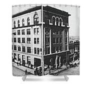 Tulsa, Oklahoma Panorama 1909 Shower Curtain