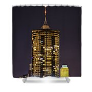Tulsa Skyscraper Shower Curtain