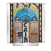 Tulsa's Cains Ballroom And Blue Dome Music District Shower Curtain
