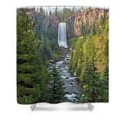 Tumalo Falls In Bend Oregon Shower Curtain