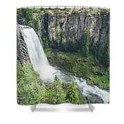 Tumalo Falls Shower Curtain by Margaret Pitcher