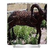 Tumble Weed Sheep Reno Nevada Shower Curtain
