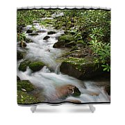 Tumbling Water Shower Curtain
