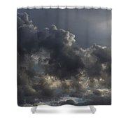 Tumultuous Nature Shower Curtain