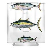 Tuna Fishes Shower Curtain