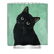 Tuna? Shower Curtain