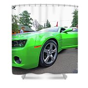 Tuned Chevrolet Shower Curtain
