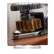 Tuning Machine Shower Curtain